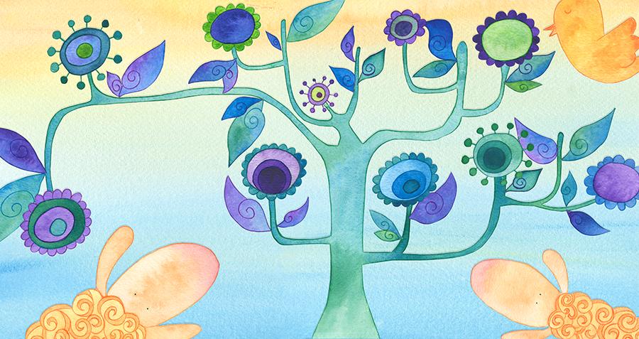 El corderín azul - Ilustración 02 - Raquel Blázquez