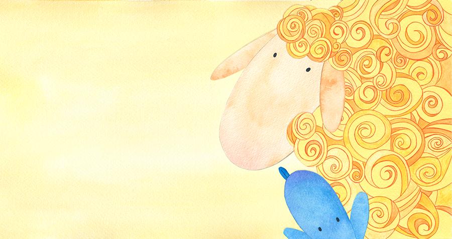 El corderín azul - Ilustración 04 - Raquel Blázquez