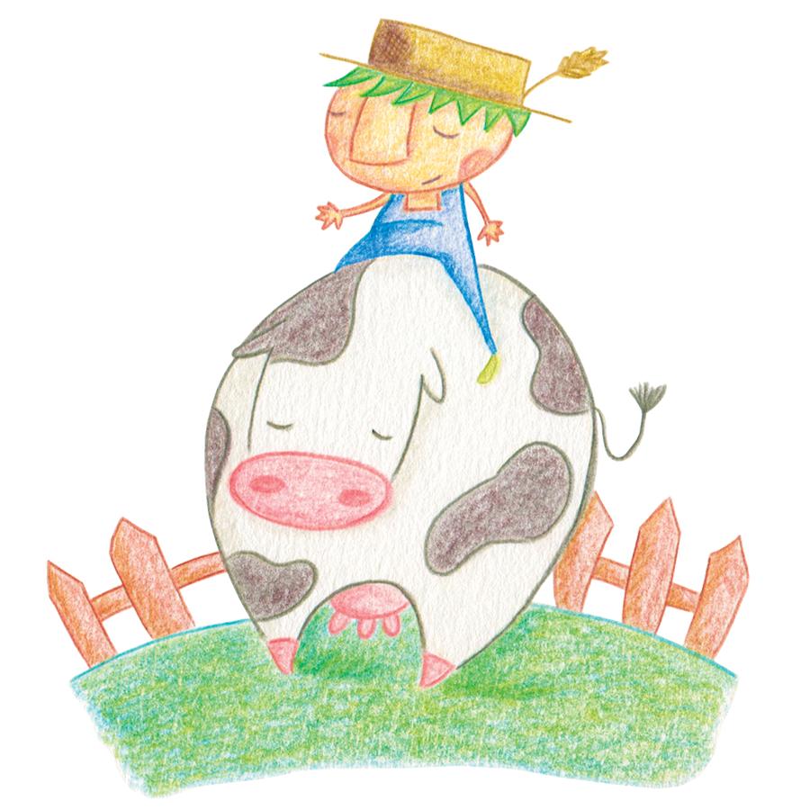 Cuentos diferentes para niños diferentes - Vaca - Raquel Blazquez