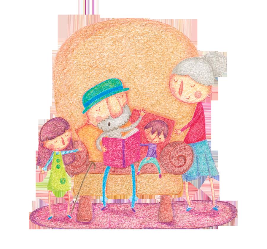 Cuentos para leer con los abuelos - Portada - Raquel Blazquez