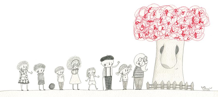 Palabra de árbol - Ilustración 06 - Raquel Blazquez