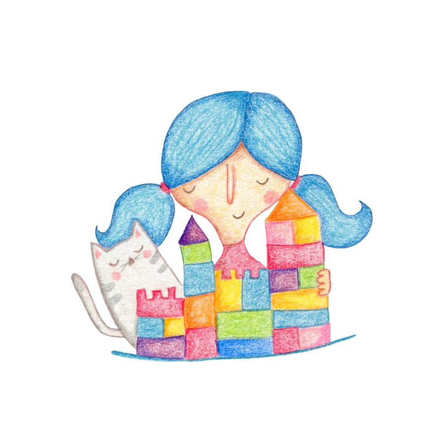Ilustracion 2 - Decálogo de cuidado para mascotas de LEGO por Raquel Bonita