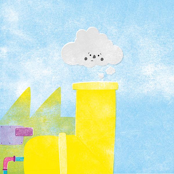Nubes de colores - Raquel Bonita