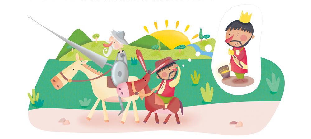 Don Quijote de La Mancha - Ilu1 - Raquel Bonita